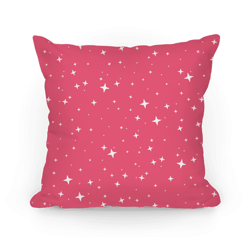 Pink Twinkling Star Sparkles Pattern
