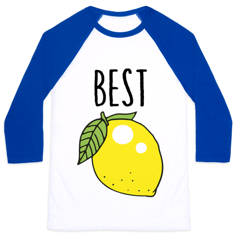 Best Friends: Lemon Baseball Tee