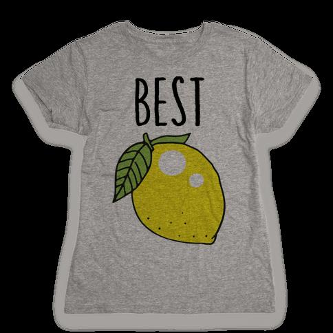 Best Friends: Lemon Womens T-Shirt