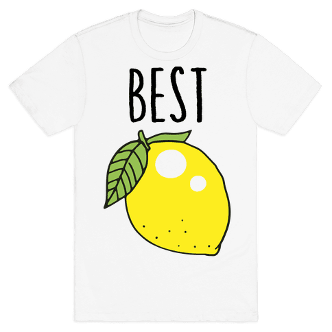 Best Friends: Lemon Mens T-Shirt