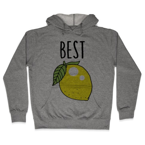 Best Friends: Lemon Hooded Sweatshirt