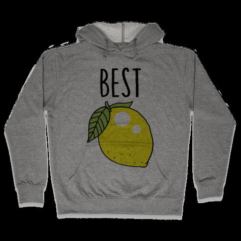 Best Friends: Lemon Hooded Sweatshirt