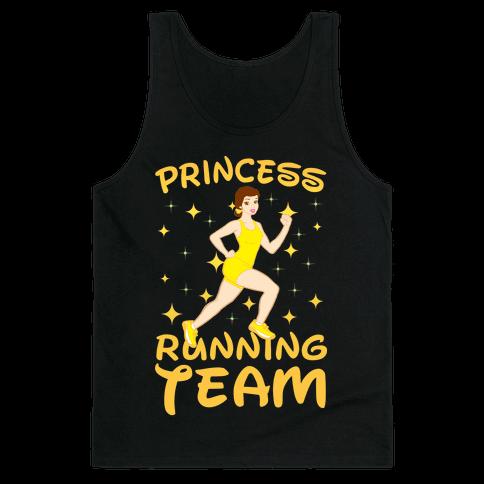 Princess Running Team (yellow) Tank Top