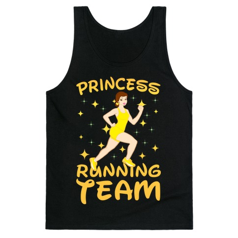 Princess Running Team (yellow) Tank Top