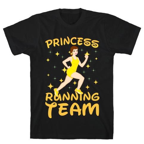 Princess Running Team (yellow) T-Shirt