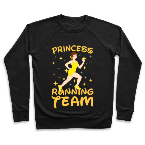 Princess Running Team (yellow) Pullover