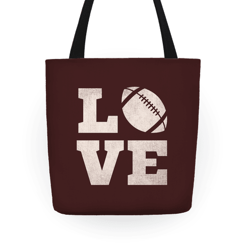 Love Football Tote