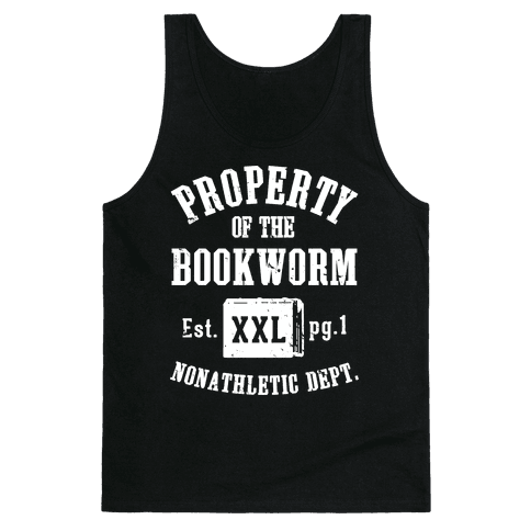 Bookworm Non Athletic Department Tank Top
