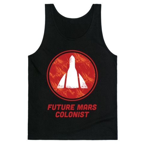 Future Mars Colonist Tank Top