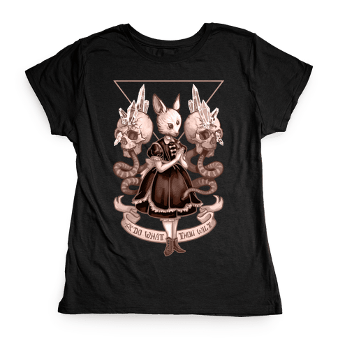 Do What Thou Wilt Womens T-Shirt