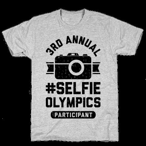 Selfie Olympics Mens T-Shirt