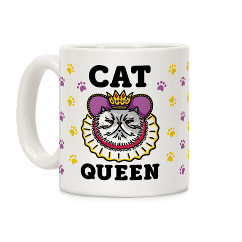 Cat Queen Coffee Mug