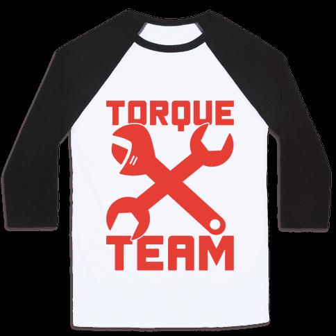 Torque Team Baseball Tee