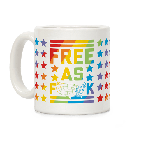 Free As F**k Coffee Mug