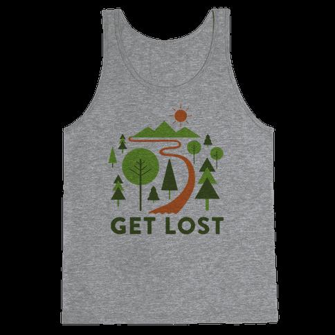 Get Lost Tank Top