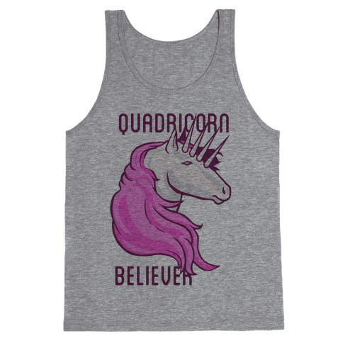 Quadricorn Believer (Tank) Tank Top