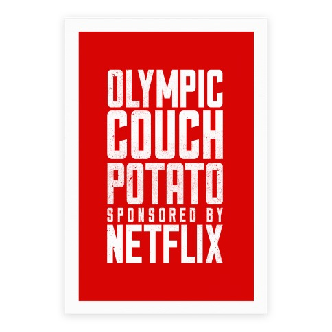 Olympic Couch Potato Poster