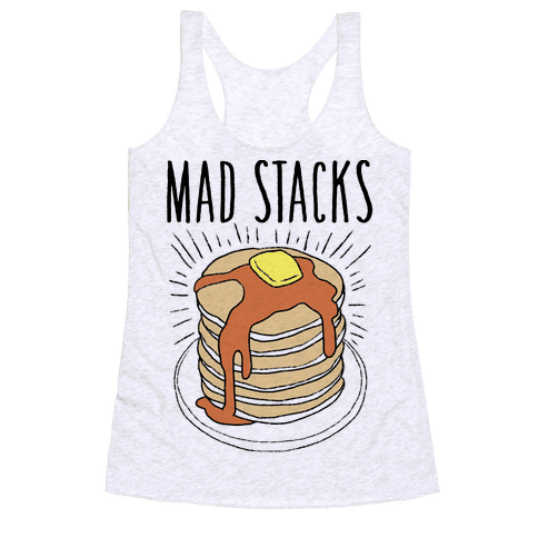 Mad Stacks Racerback Tank Top
