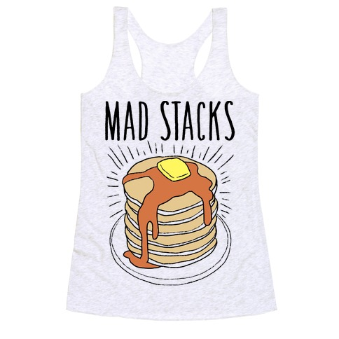 Mad Stacks Racerback Tank Top