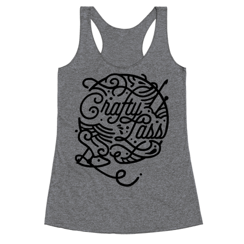 Crafty Lass Racerback Tank Top