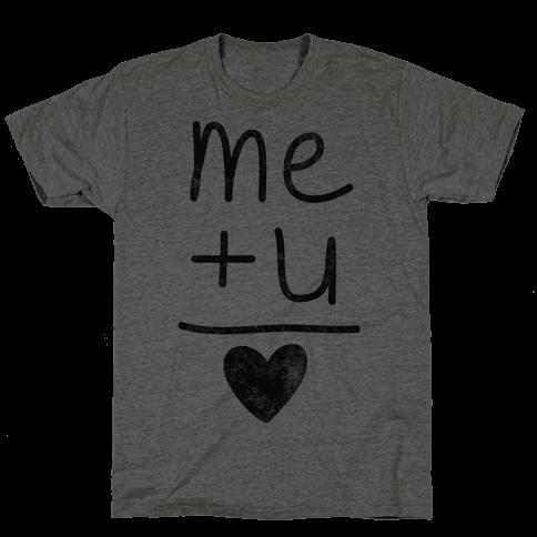 Me + You = Love