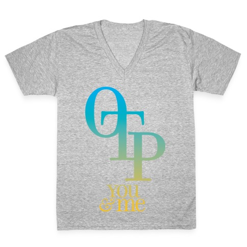 OTP - You & Me V-Neck Tee Shirt