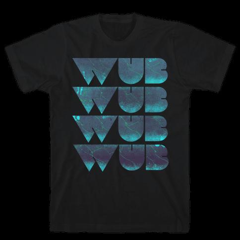 Wub Wub Wub (Dark) Mens T-Shirt