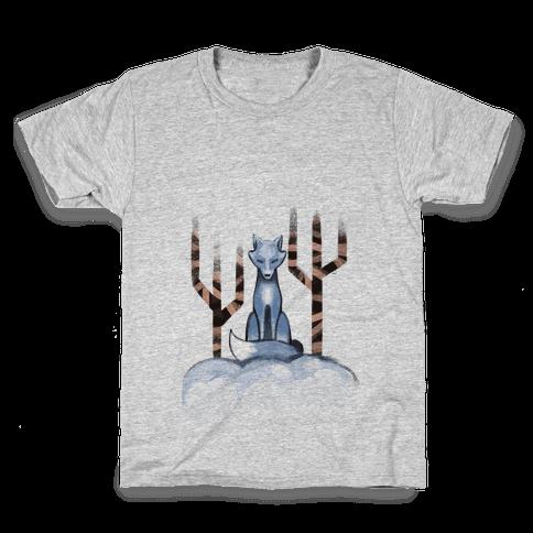 Blue Fox Kids T-Shirt