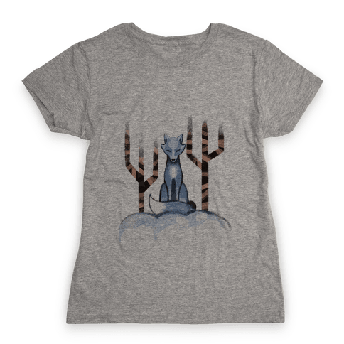 Blue Fox Womens T-Shirt