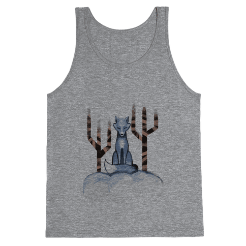Blue Fox Tank Top