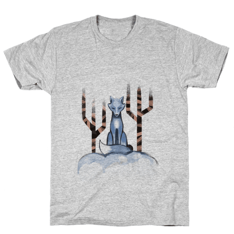Blue Fox Mens T-Shirt