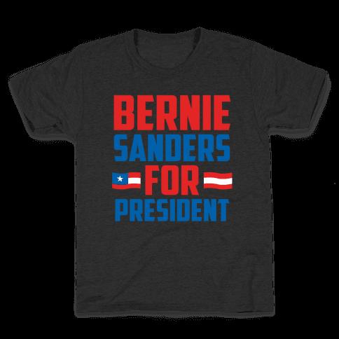 Bernie Sanders For President Kids T-Shirt