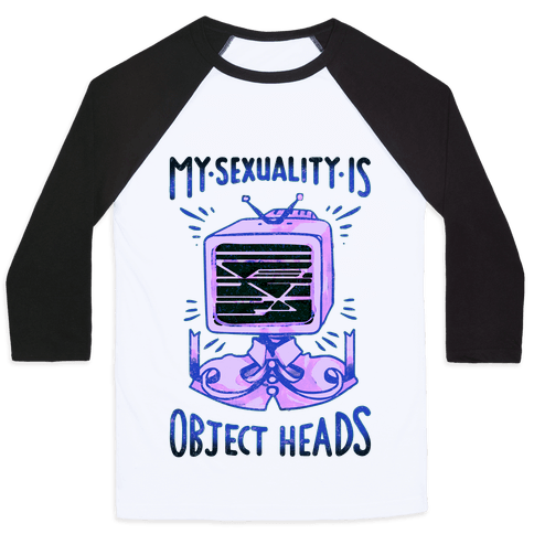 My Sexuality is Object Heads Baseball Tee