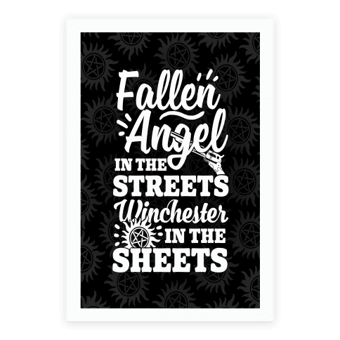 Fallen Angel In The Streets Winchester In The Streets Poster