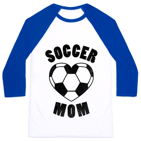 Soccer Mom Baseball Tee