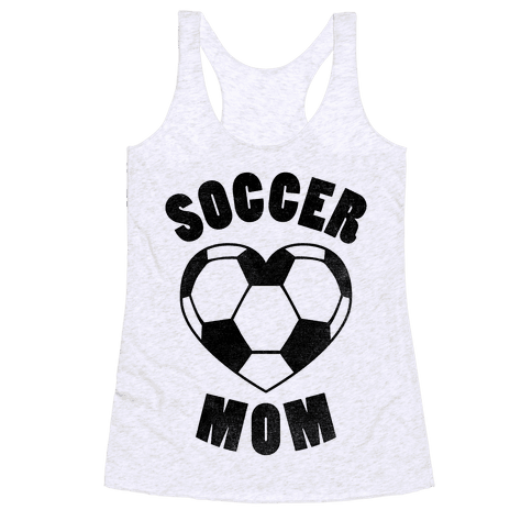 Soccer Mom Racerback Tank Top