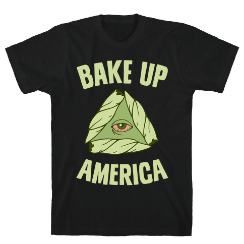 Bake Up America Mens T-Shirt