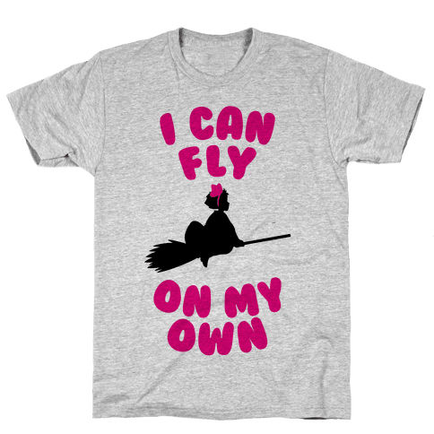 I Can Fly On My Own Mens T-Shirt