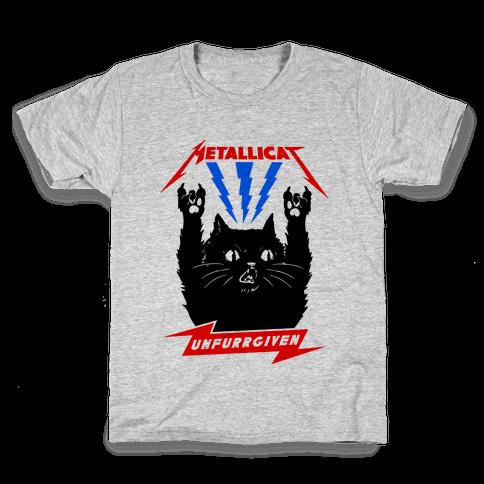 Metallicat Unfurrgiven Kids T-Shirt