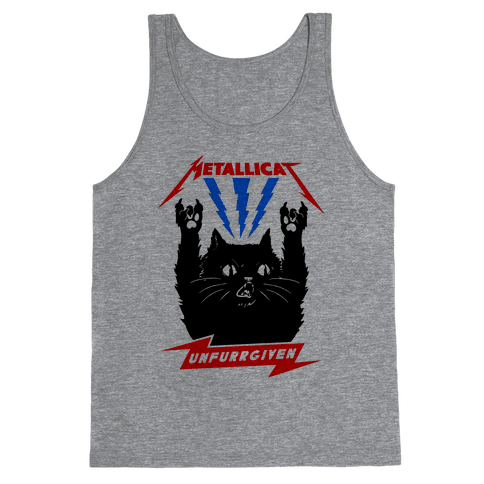 Metallicat Unfurrgiven Tank Top