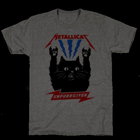 Metallicat Unfurrgiven Mens T-Shirt