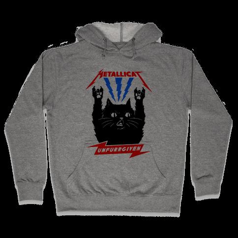 Metallicat Unfurrgiven Hooded Sweatshirt