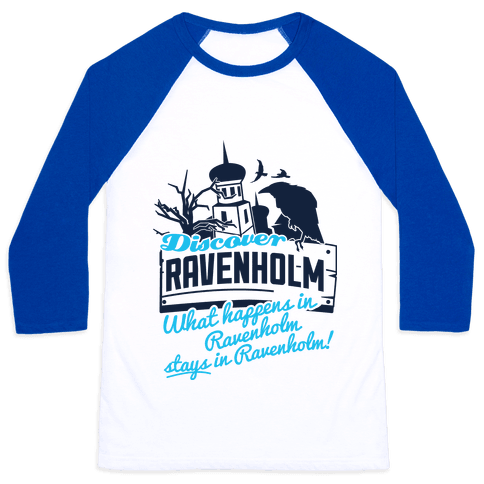Discover Ravenholm Baseball Tee