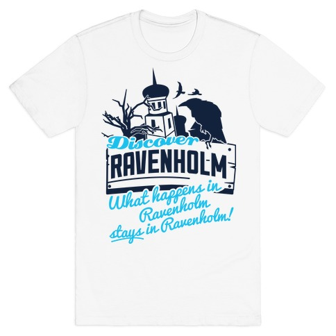 Discover Ravenholm Mens T-Shirt