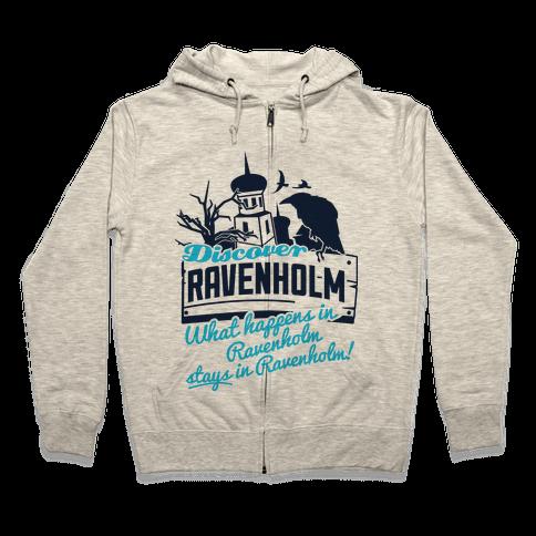 Discover Ravenholm Zip Hoodie