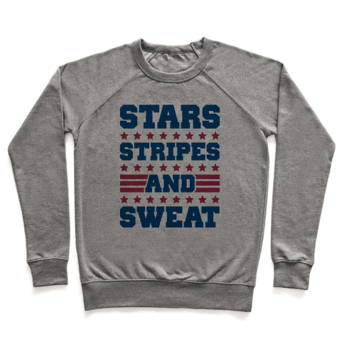 Stars Stripes and Sweat Pullover