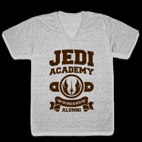 Jedi Academy Alumni V-Neck Tee Shirt