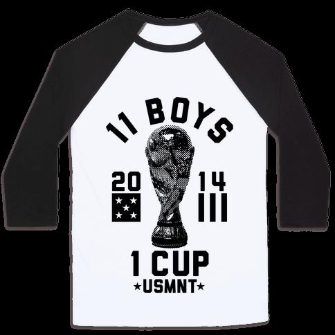 11 Boys 1 Cup Baseball Tee