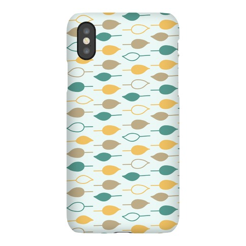 Leaf Pattern Case (Blue) Phone Case
