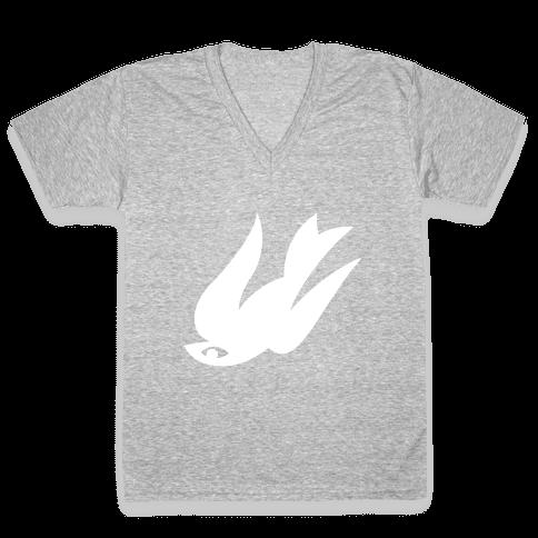 The Bird V-Neck Tee Shirt